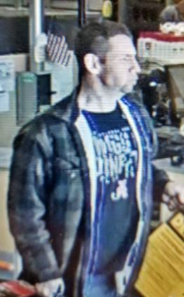 Trussville PD searching for man wanted in theft investigation