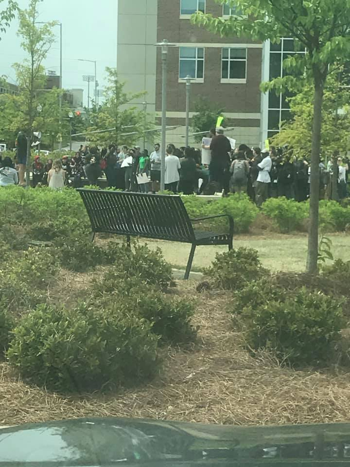 UAB students protest white supremacy on campus