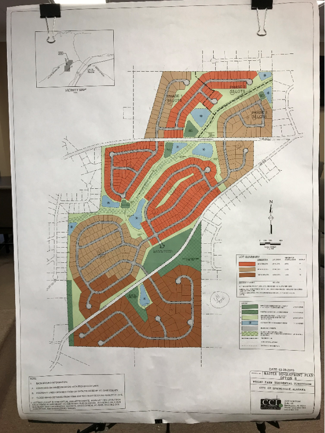 Springville amends zoning for two developments in special session