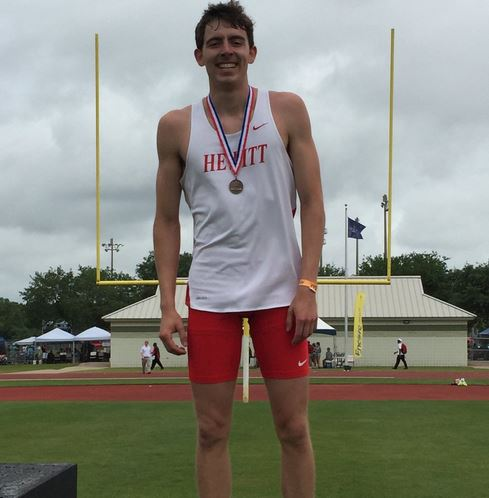 Hewitt-Trussville's Stone Shelnutt captures 3 of 5 events on first day of state decathlon