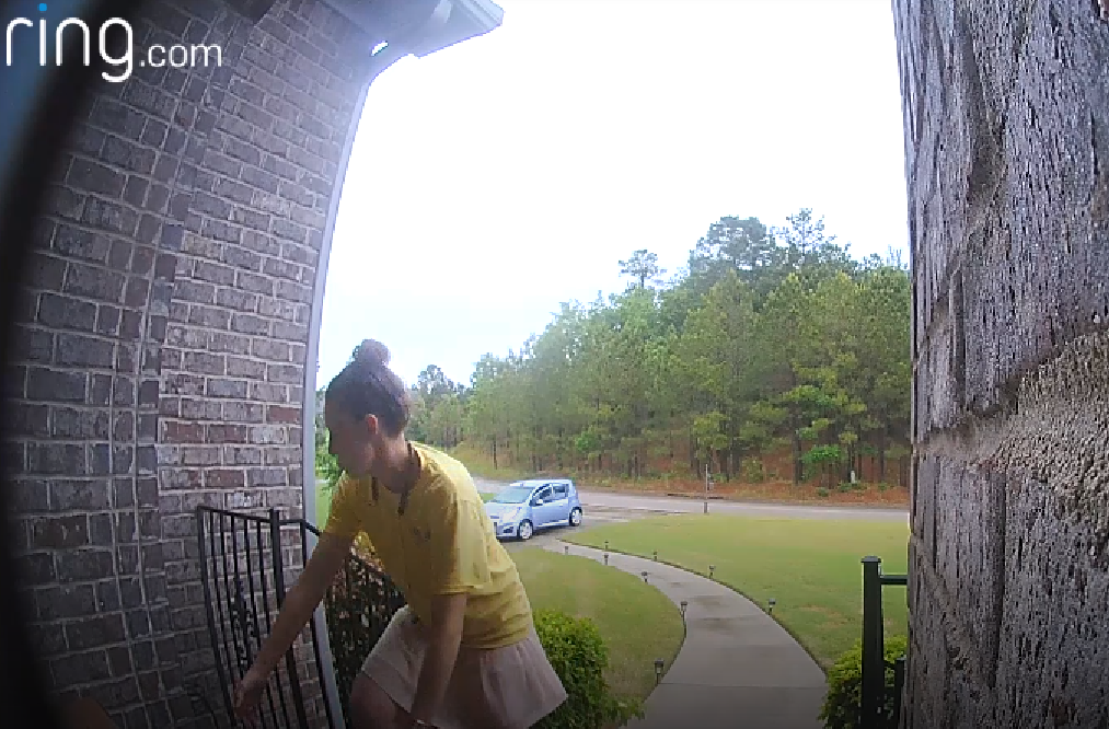 VIDEO: Suspected porch pirate in Bessemer: 'Stealing things makes me feel good'