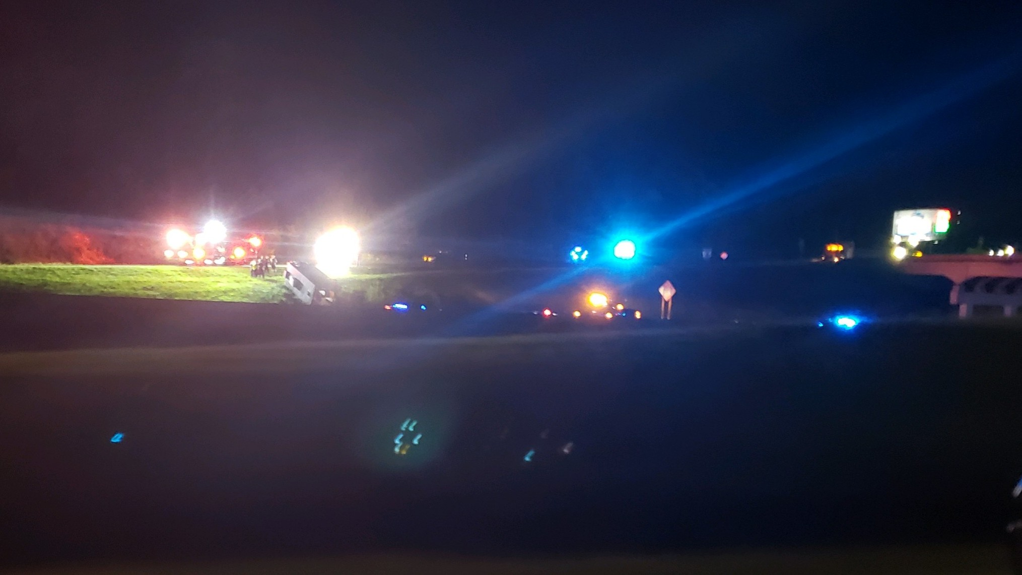 2 crashes on I-20 westbound in Moody