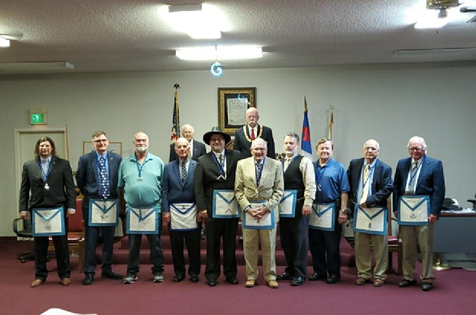 Trussville Masonic Lodge installs new officers