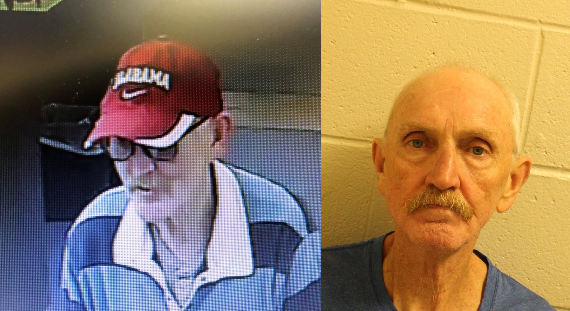 65-year-old man charged in Gardendale bank robbery