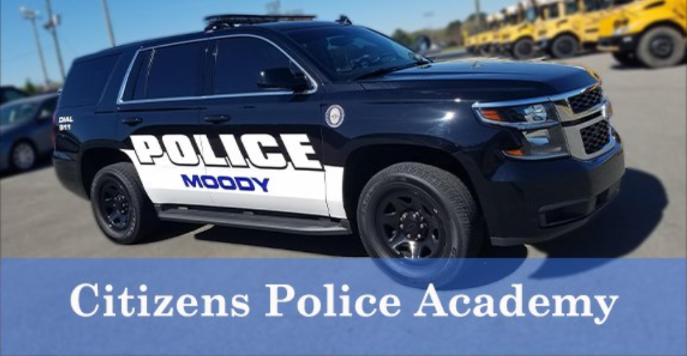 Applications available for Moody Citizens Police Academy
