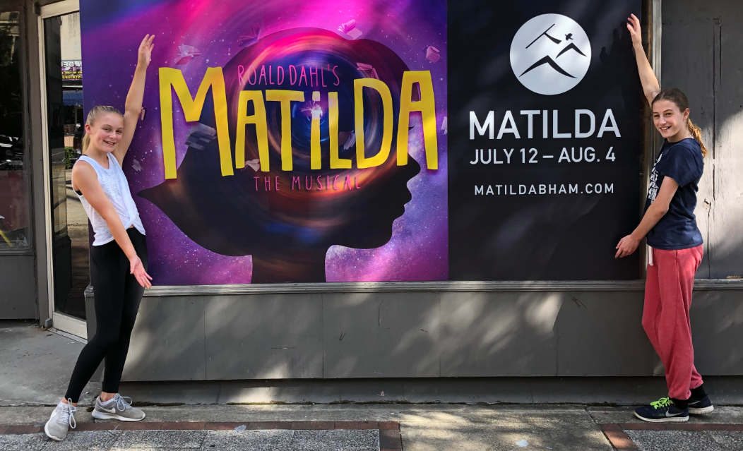 Trussville girls preparing for the big stage in 'Matilda' at Red Mountain Theater