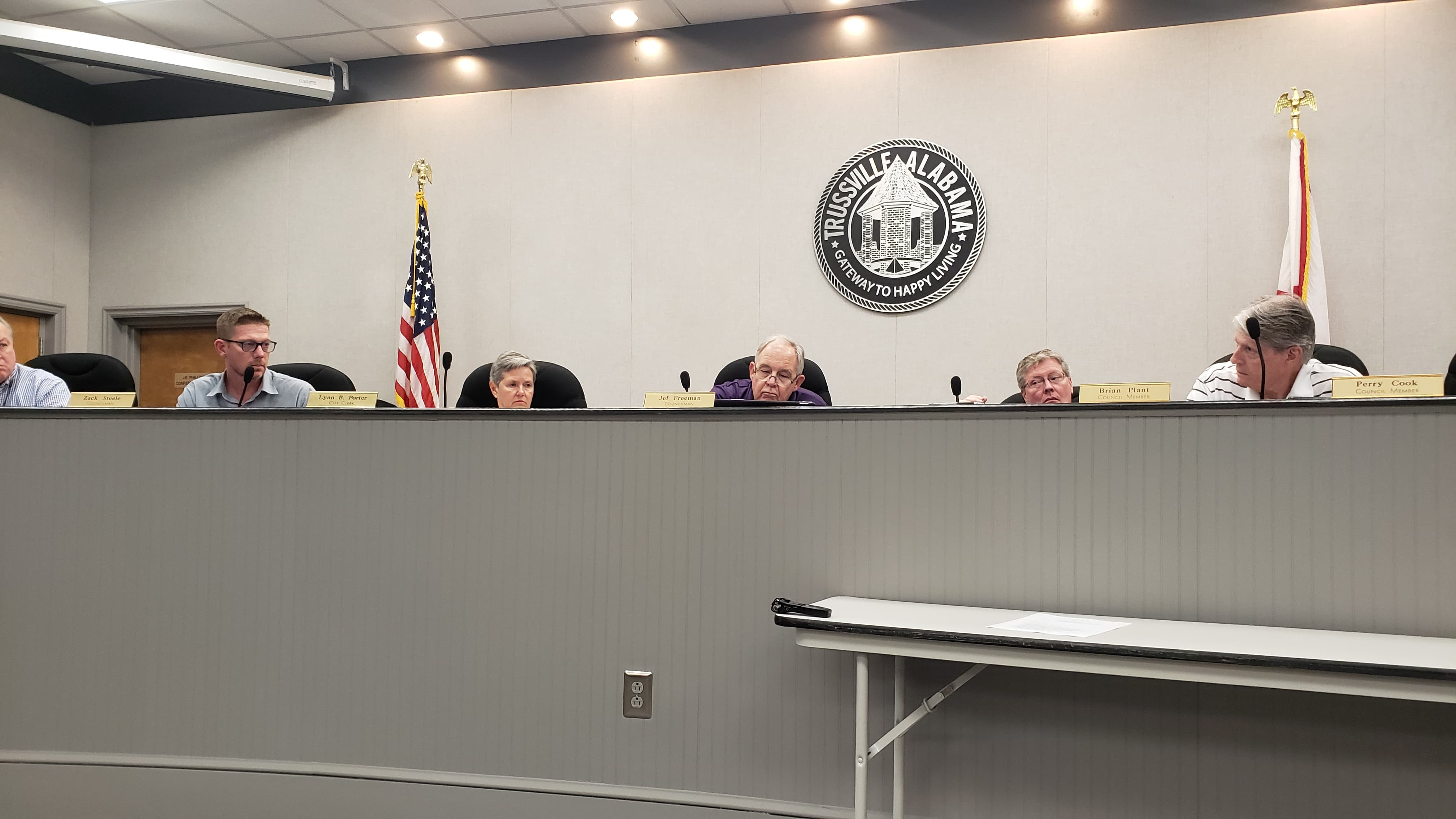 Trussville councilman apologizes for 'insulting or insinuating' during rezoning discussion
