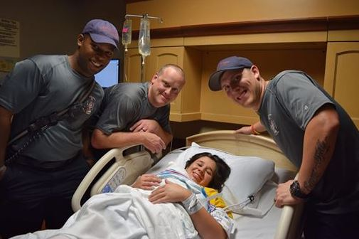 Special Delivery: Center Point firefighters help deliver a baby