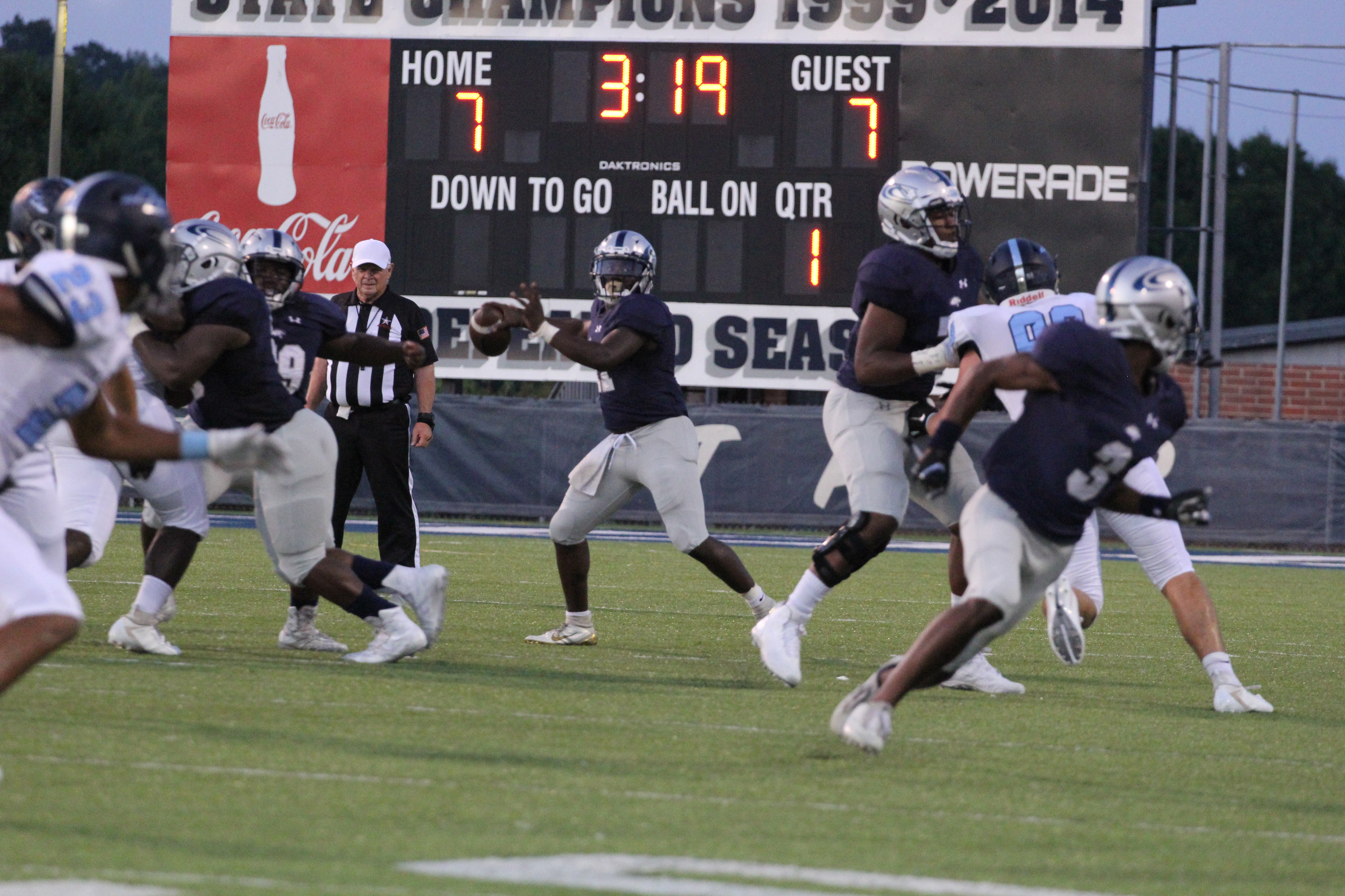 Clay-Chalkville stuns James Clemens with two touchdowns in final six minutes