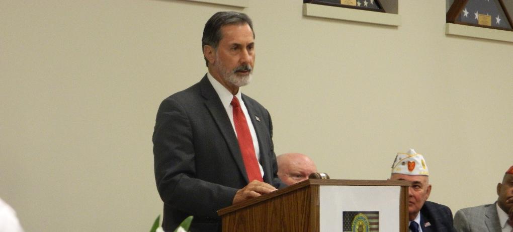 PHOTOS: Congressman speaks at American Legion post in Clay