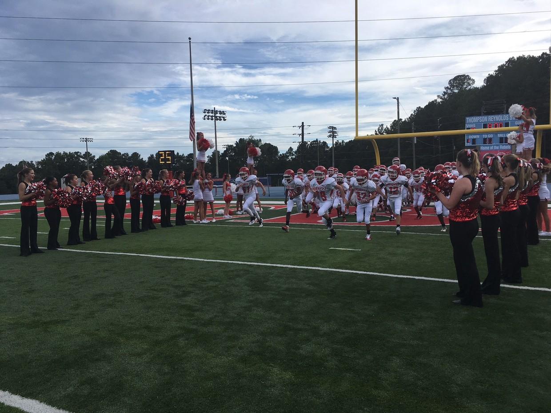 Hewitt-Trussville Middle School football opens season Thursday