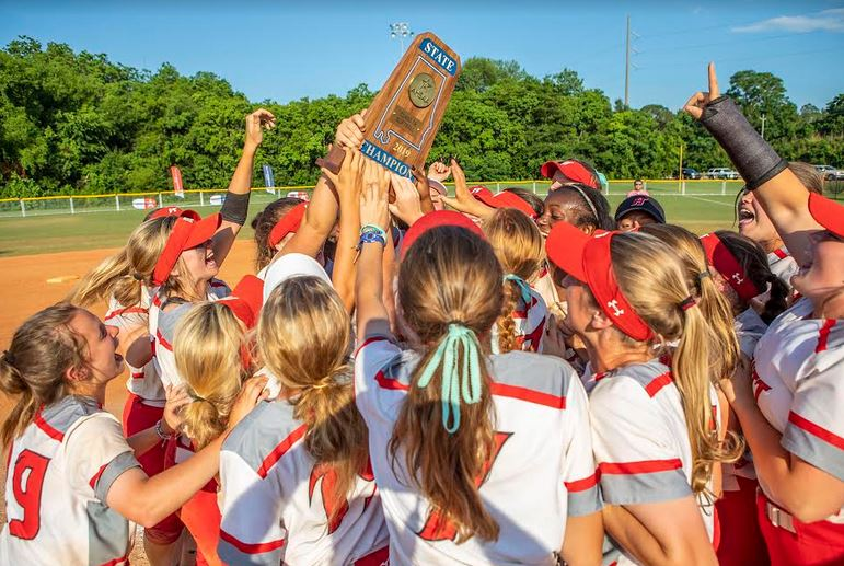 Hewitt-Trussville softball to receive state championship rings Friday