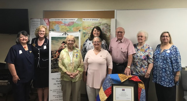Quilt of Valor presented to Vietnam War veteran in Trussville