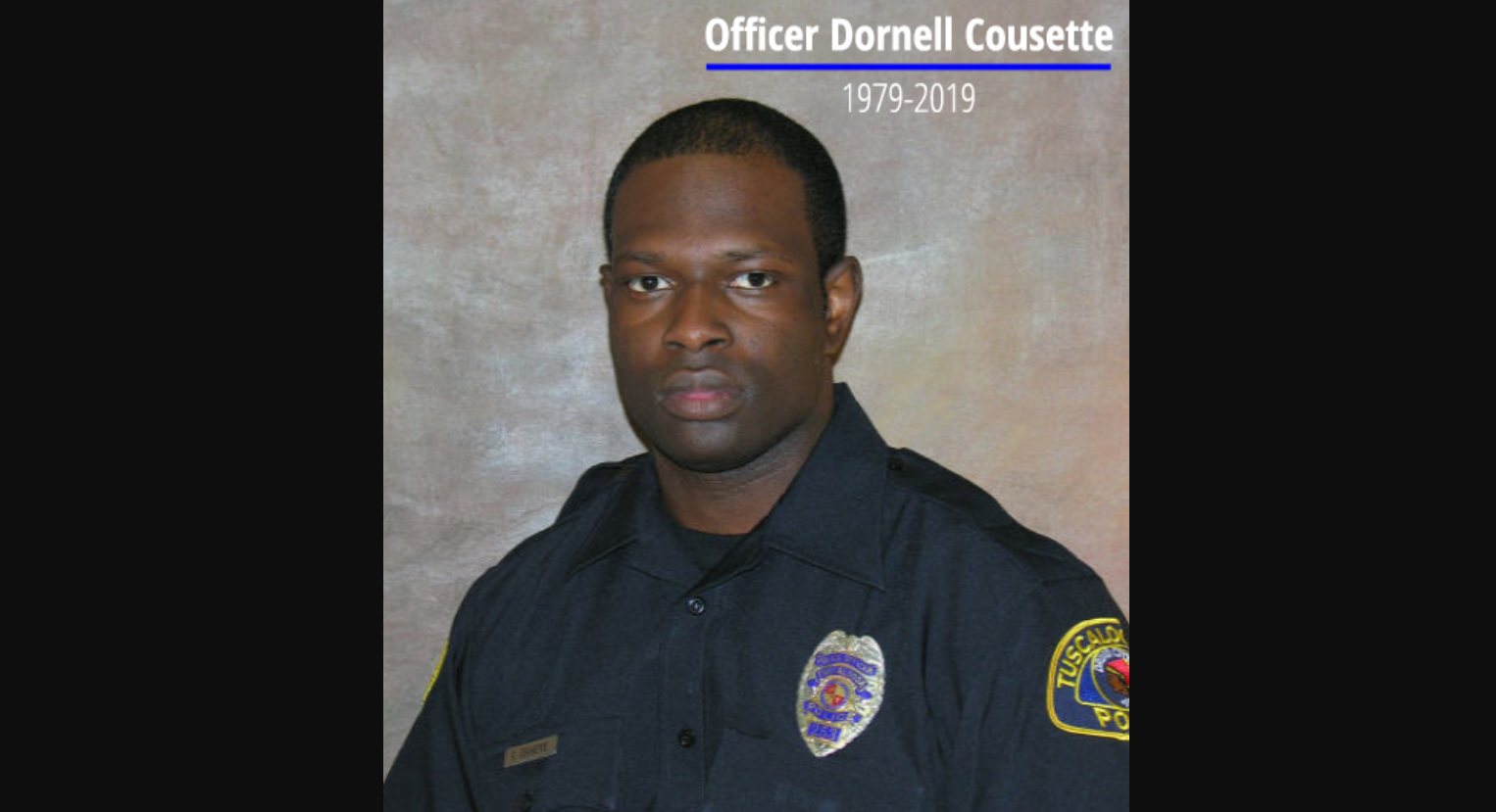 United States Attorney responds to death of Tuscaloosa Police Officer Dornell Cousette