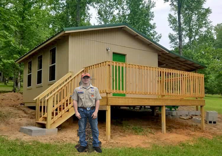 Local Eagle Scout project makes things bigger and better at Camp Coleman