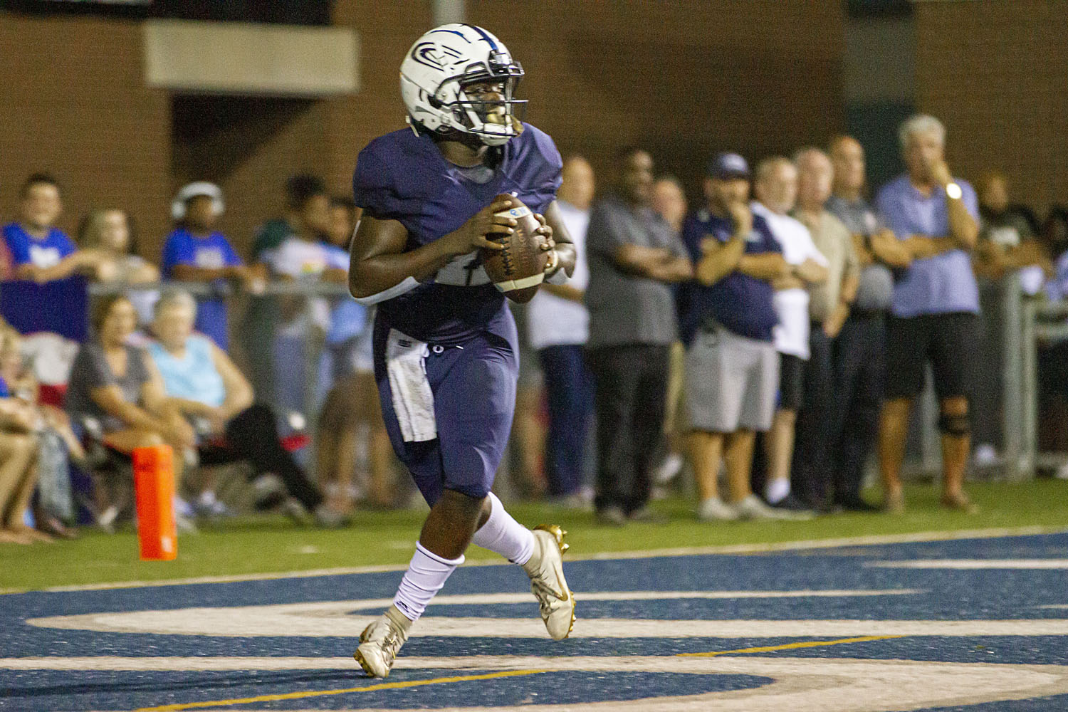 Clay-Chalkville bolsters playoff standing with dominant victory over Pell City