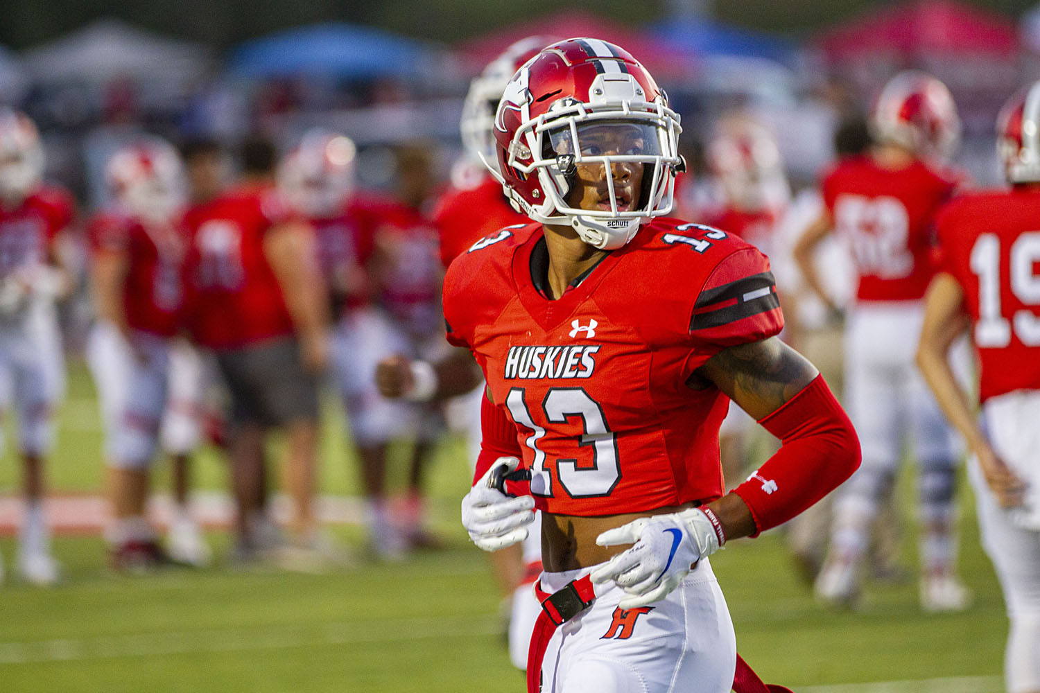 Hewitt-Trussville's Malachi Moore cements victory over Thompson, named player of the week