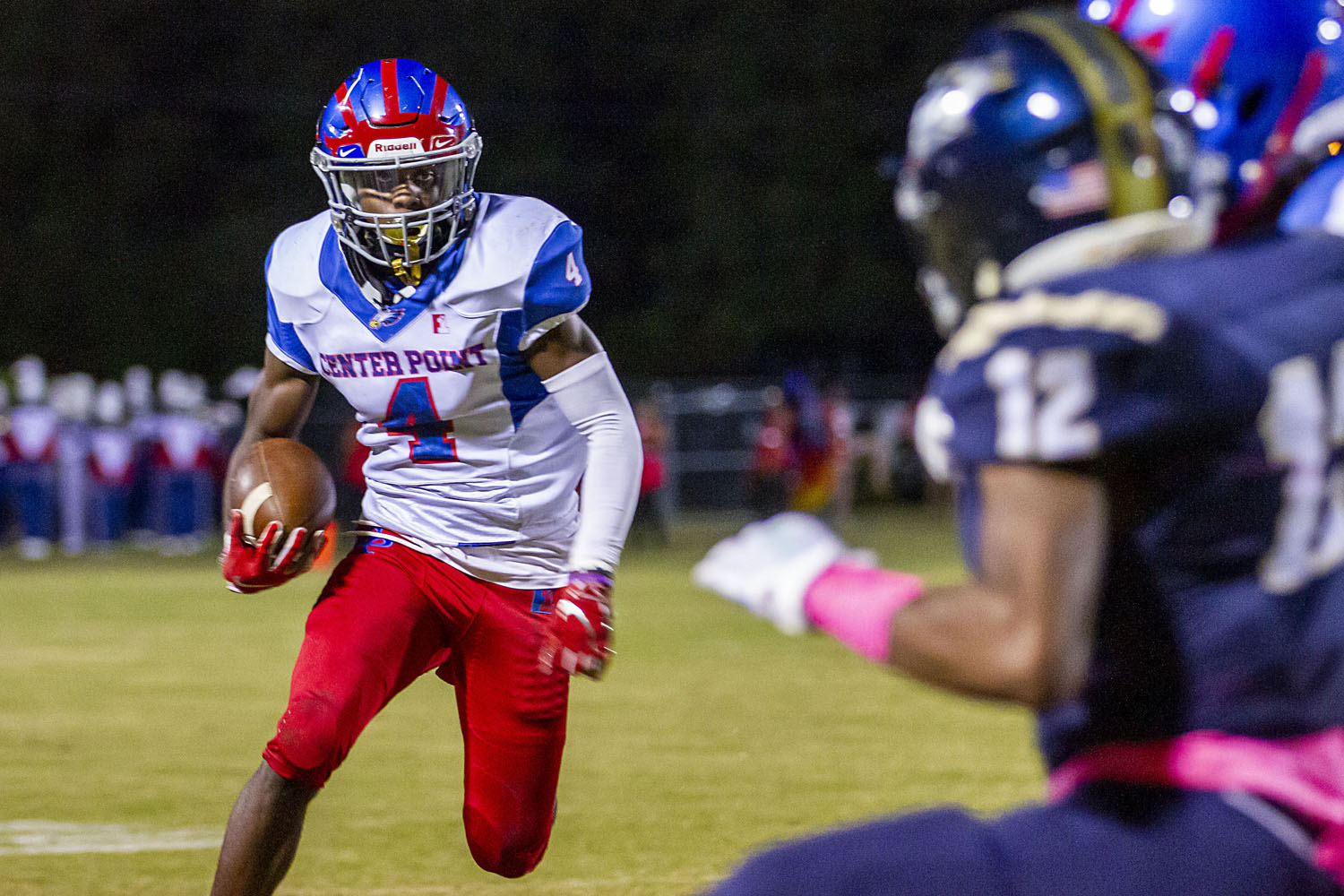 For Center Point, battle for home playoff game goes through Class 5A reigning champion Central Clay County