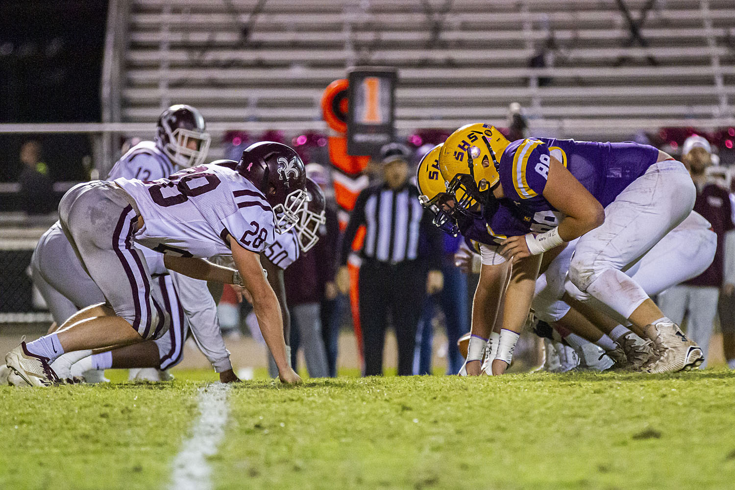 Center Point stumbles against Central Clay County with region title on the line