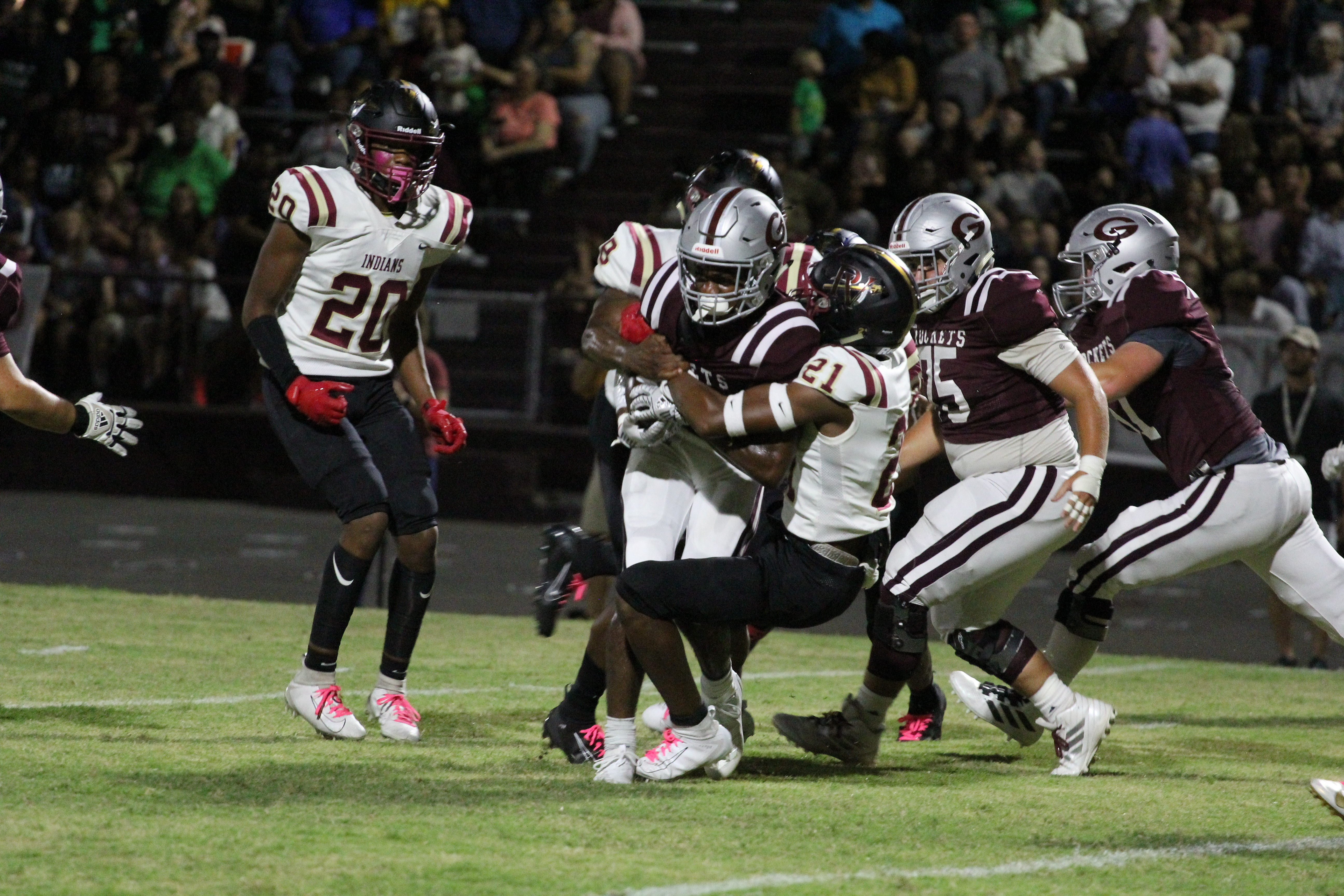 Pinson Valley returns to form in victory over Gardendale, now turns to Huffman