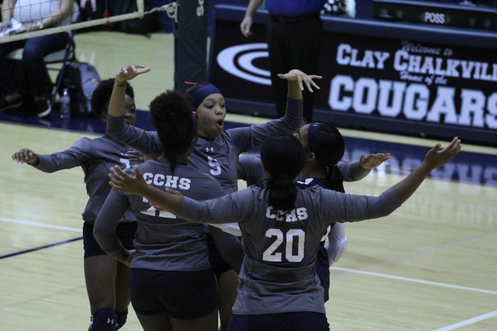 Clay-Chalkville volleyball bows out in opening round of Class 6A North Super Regional