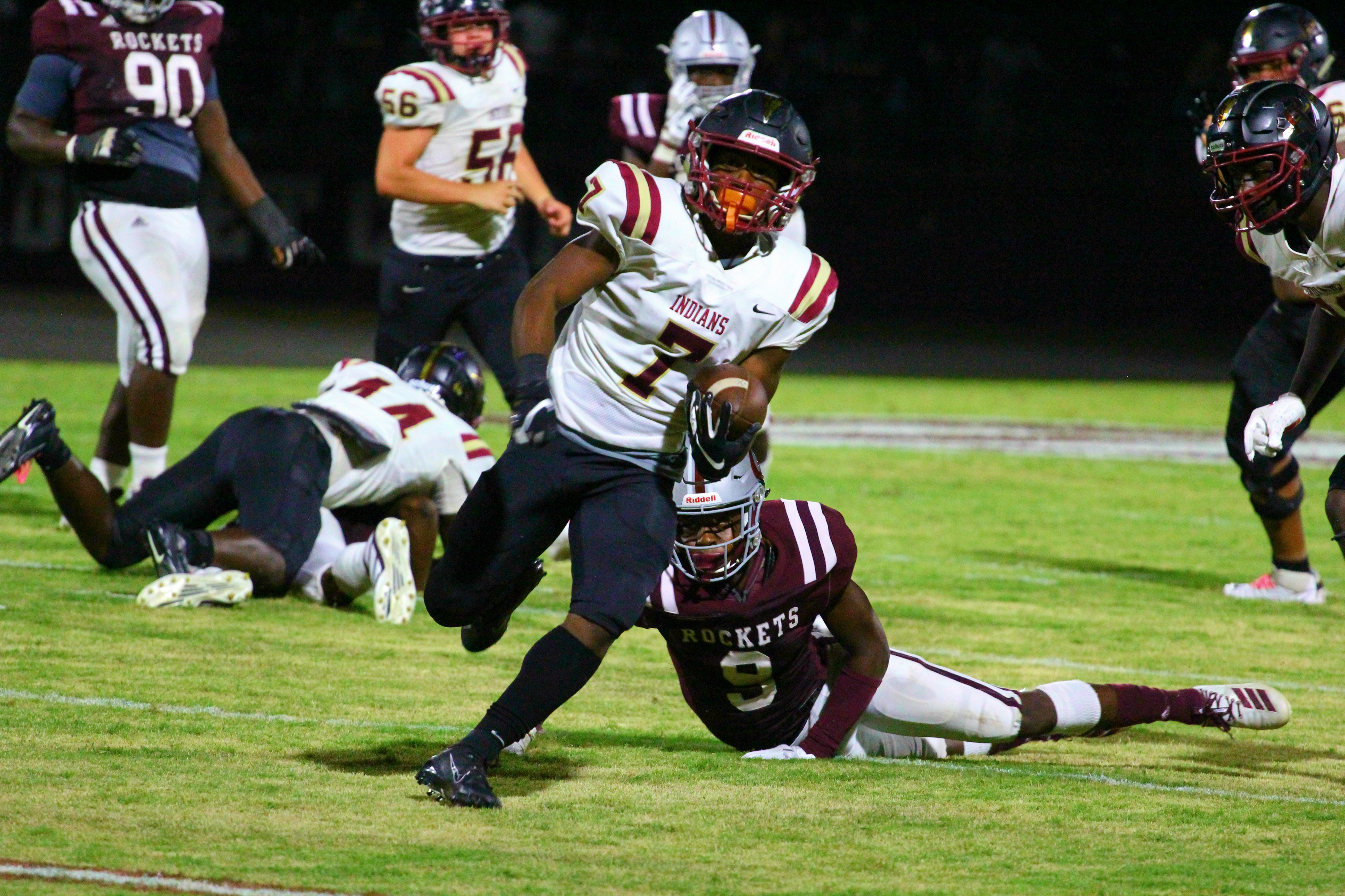 Pinson Valley grinds out victory over previously undefeated Gardendale