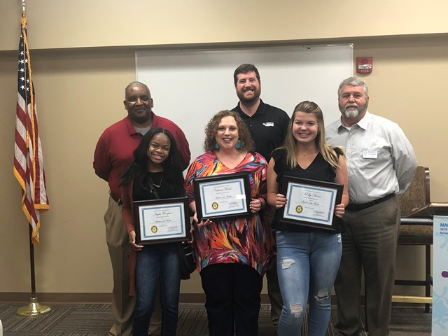 Trussville Rotary Daybreak Club names teachers, students of the month