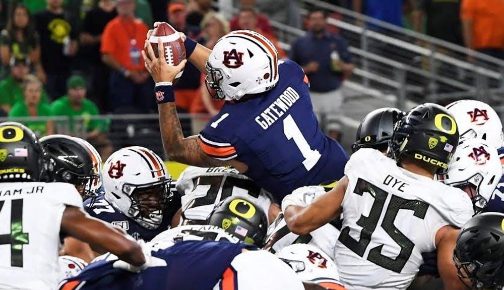 Auburn's backup quarterback Joey Gatewood expected to transfer