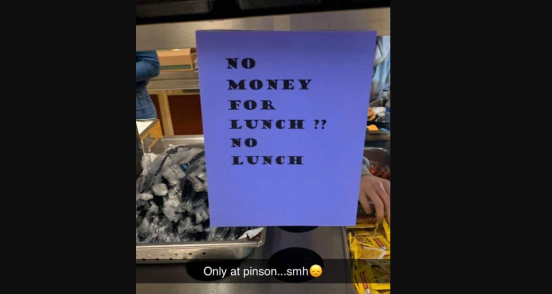 PVHS principal removes sign from lunchroom after social media storm
