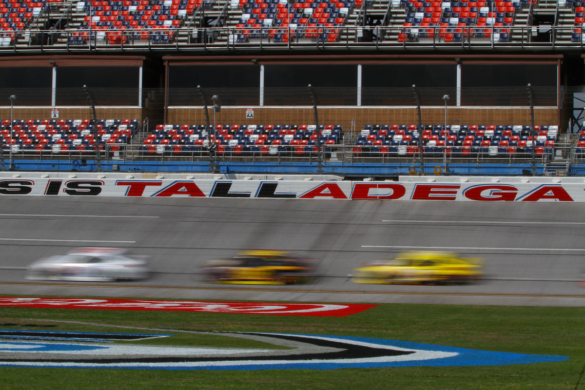 Safety restrictions in place for upcoming Talladega races