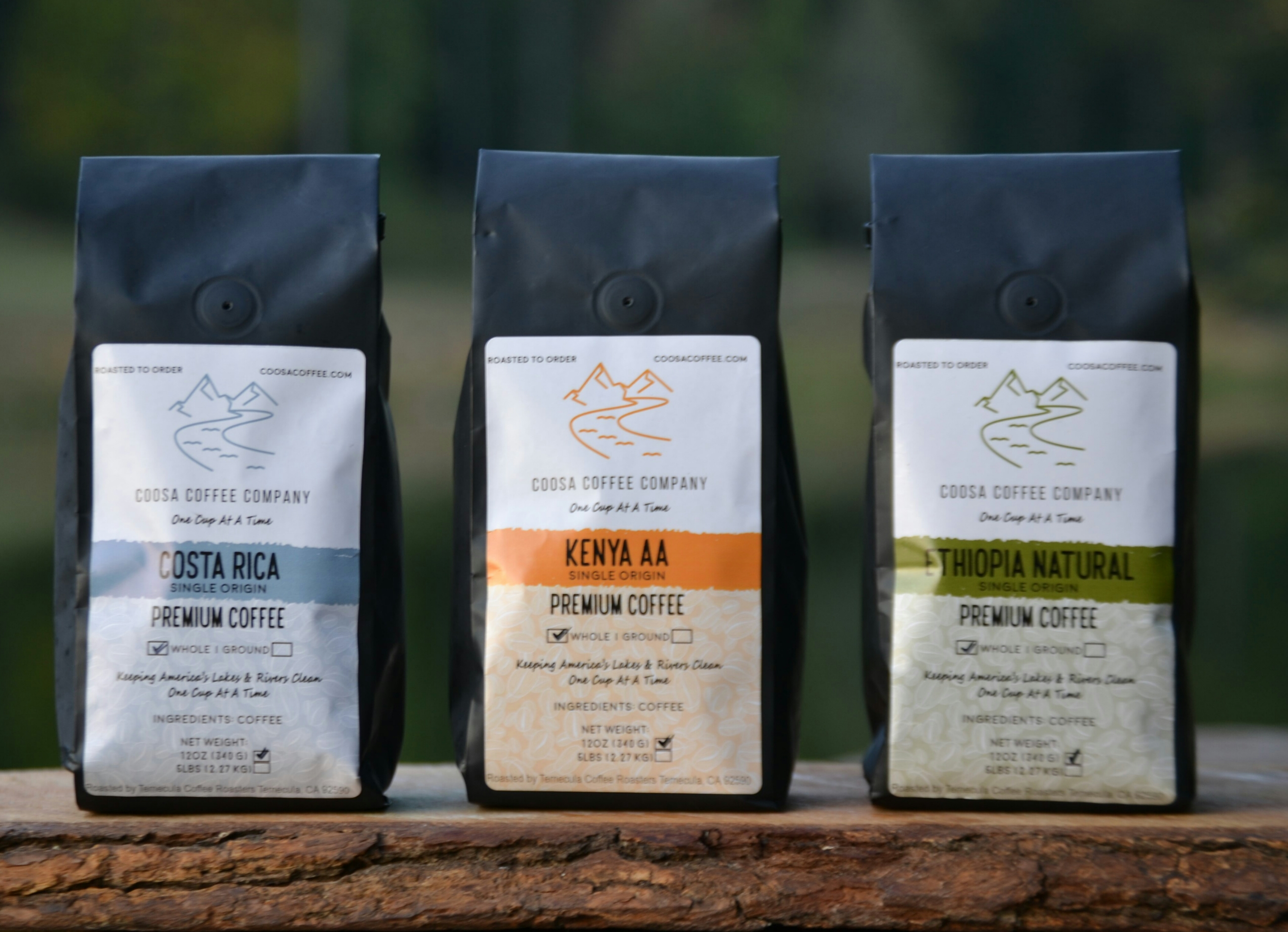 Coosa Coffee Company, based out of Trussville, offering e-commerce coffee