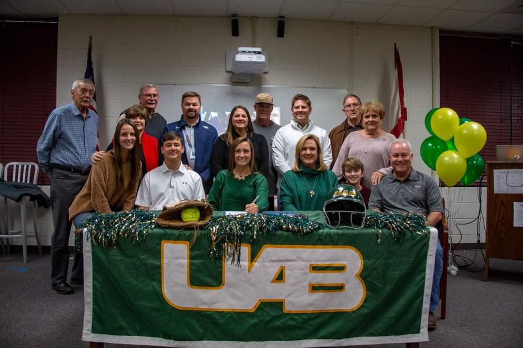 Moody softball's Lilly Crowe heading to UAB