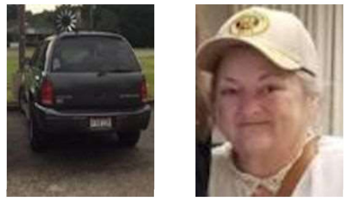 MISSING SENIOR ALERT: Barbara Lynn Bates
