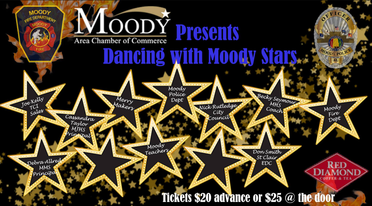 Dancing with the Moody Stars Friday night