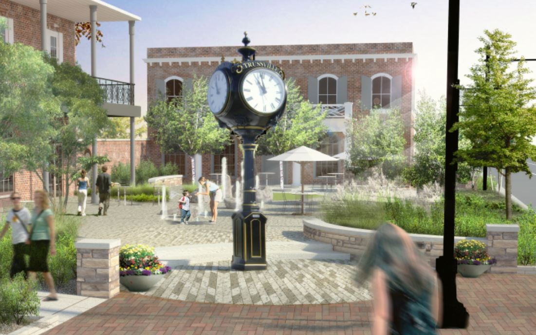 Trussville City Council approves agreement for centerpiece of downtown design