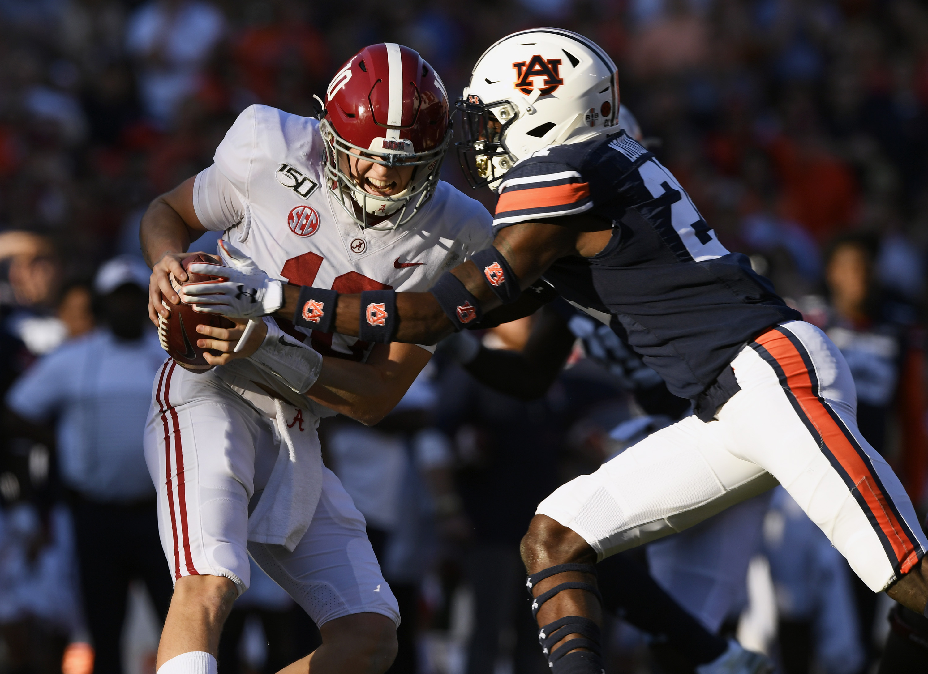 Game time, TV network announced for Iron Bowl