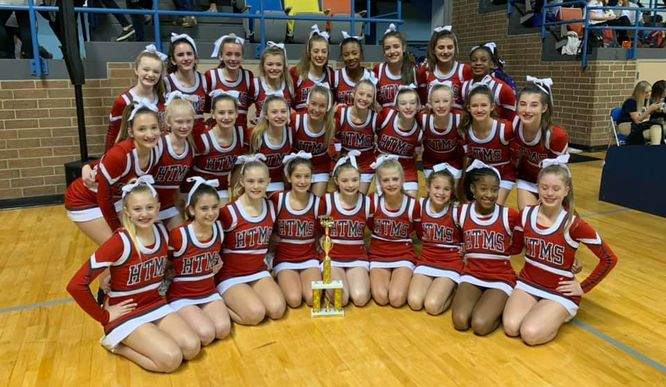Hewitt-Trussville Middle School cheerleading takes home second place at AHSAA State Cheerleading Championship