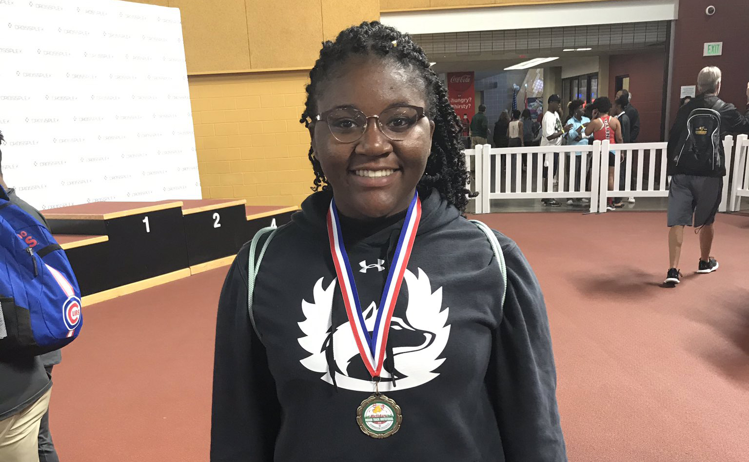 Hewitt-Trussville's Lea Townsend takes home gold in shot put at Last Chance Invitational in tune up for state championships