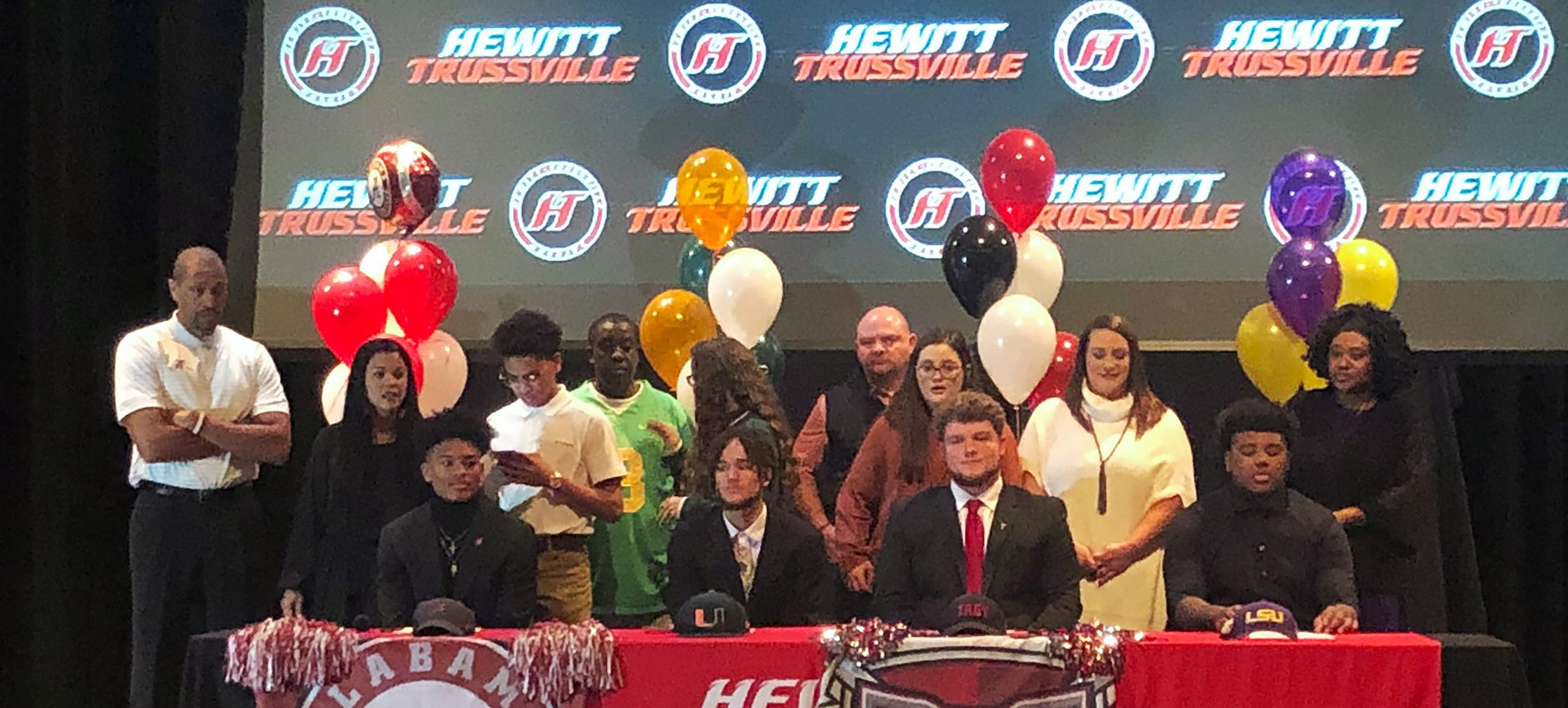 National Signing Day: Hewitt-Trussville continues run of sending athletes to top colleges as 4 sign letters of intent