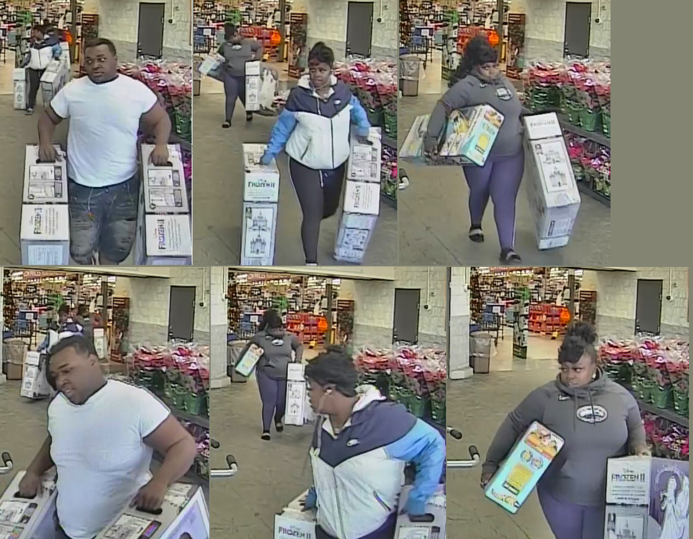 Leeds Police asking for help identifying 3 people accused of theft