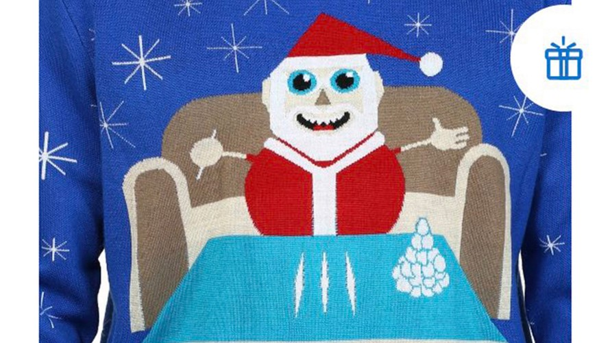 Walmart apologizes for sweater depicting Santa with cocaine