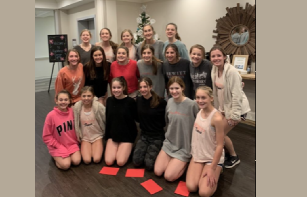 CHRISTMAS MOMENT: Hewitt-Trussville Middle School Dance Team visits assisted living facility