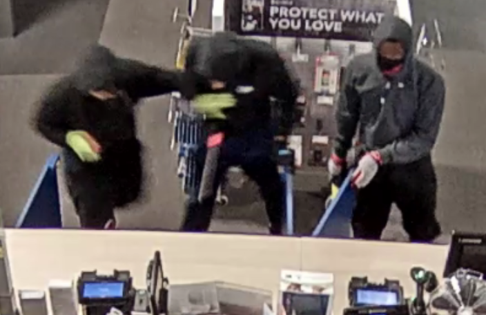 CAUGHT ON CAMERA: Masked crooks steal $32K worth of drones, phones and headphones from Trussville Best Buy