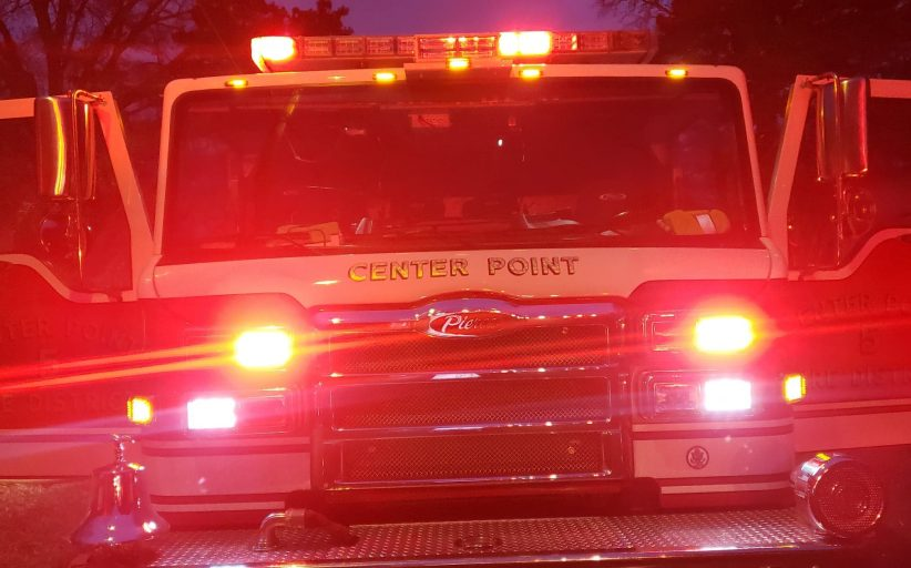 Some displaced after overnight fire in Center Point