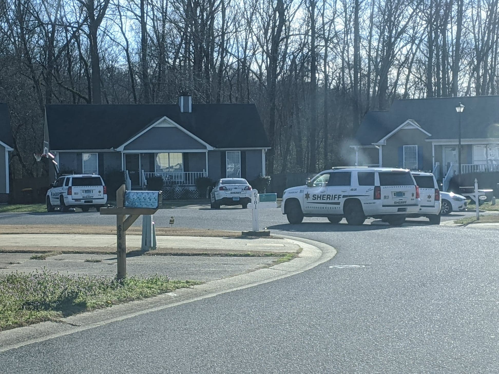 Deputies searched for suspect in woods near Pinson Valley High School and Rudd Middle School
