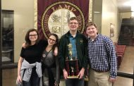 Hewitt-Trussville High School varsity scholar's bowl team wins program first varsity tournament at 2020 LAMP Invitational
