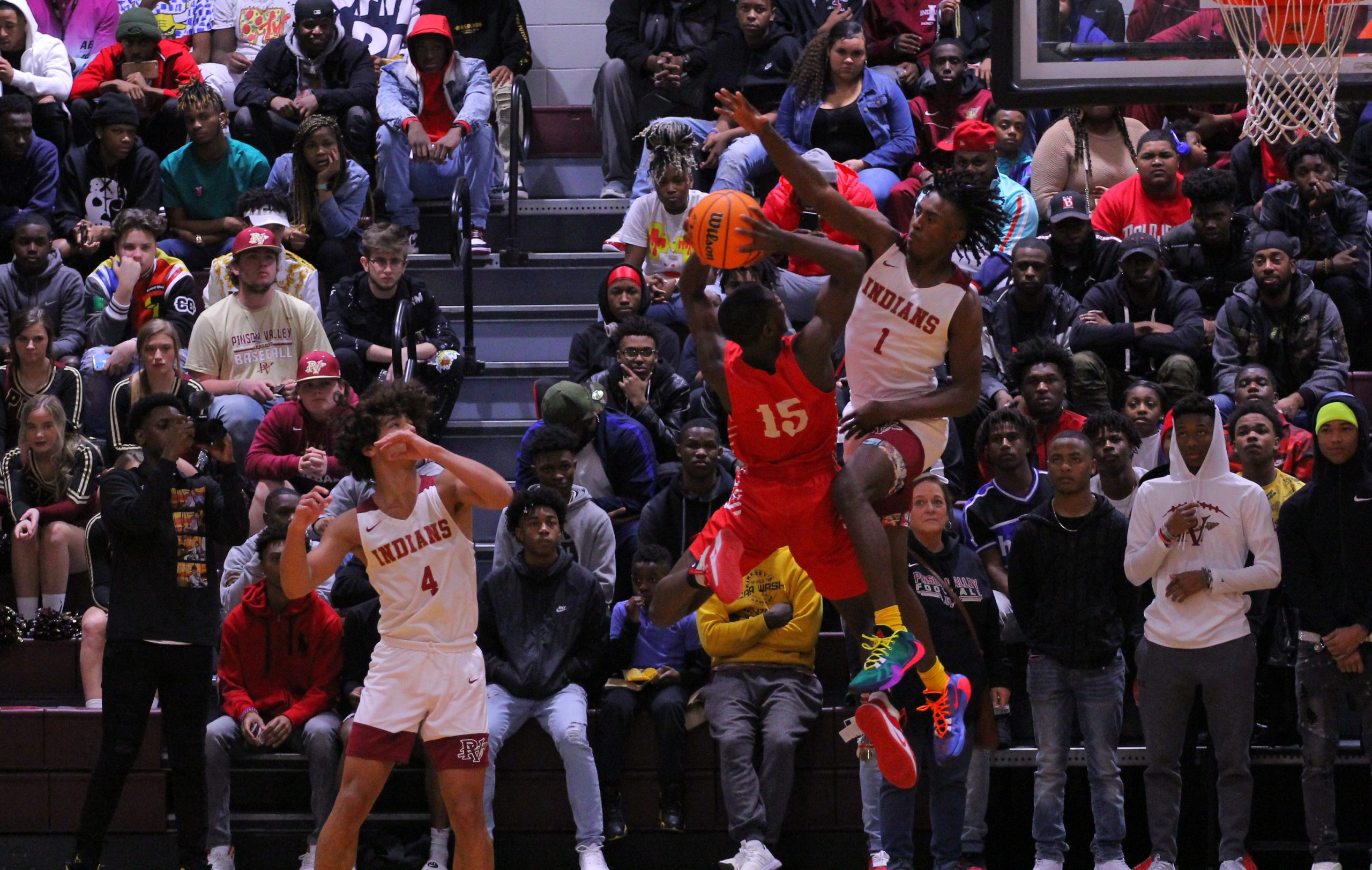 Pinson Valley rallies from 23 points down to stun No. 2 ranked Lee behind Wood's career-high 52 points