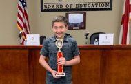 5th grader wins Trussville City Schools' District Spelling Bee