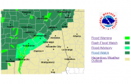 Flood advisory issued for many parts of central Alabama, severe storms possible Thursday