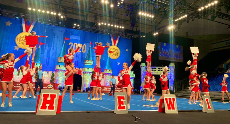 Hewitt-Trussville cheer concludes 2020 UCA National High School Cheerleading Championship as one of the top teams in the country